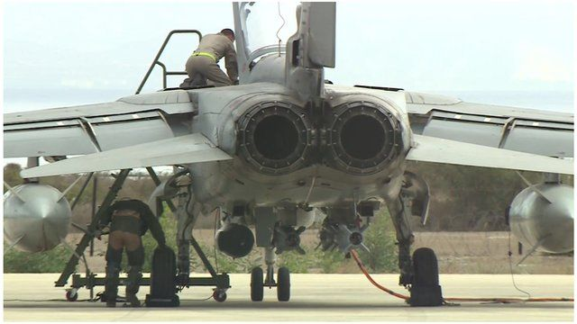 Tornado G4 fighter