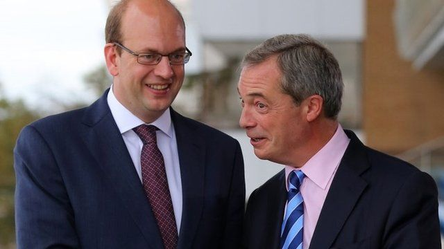 Mark Reckless and Nigel Farage
