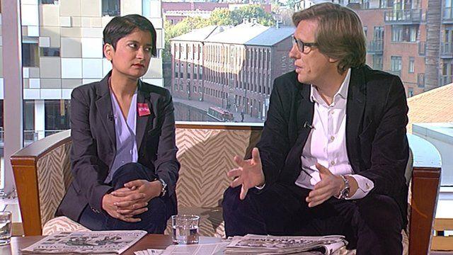 Shami Chakrabarti and Ian Birrell