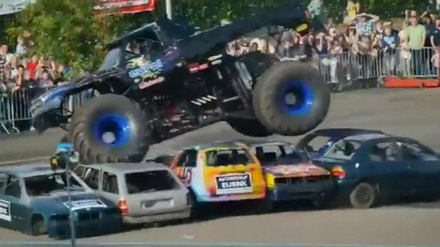 Netherlands Monster Truck Accident Kills Three People Bbc News