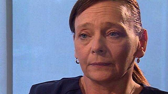 Barbara Henning, wife of hostage Alan Henning