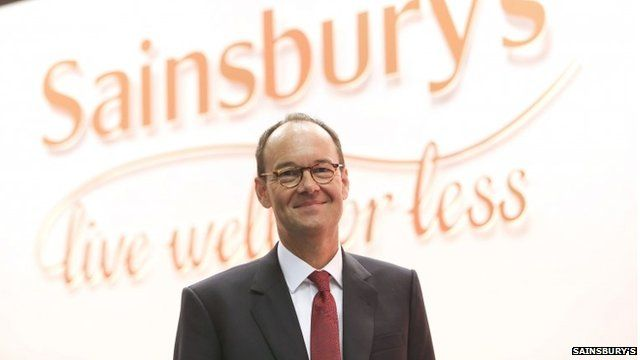 Mike Coupe at Sainsbury's annual general meeting