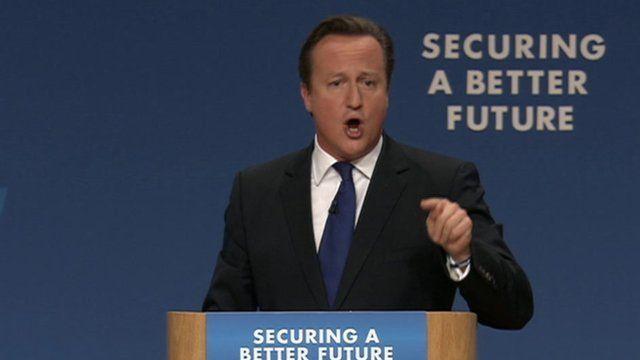 David Cameron at NHS conference