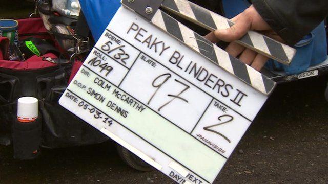 Peaky Blinders clapper board