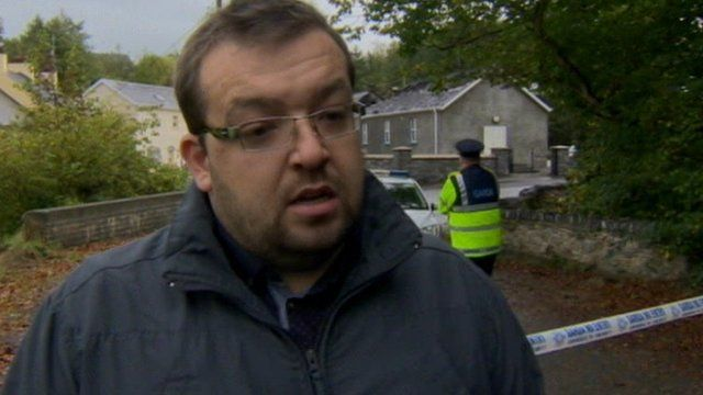 Alan Laird of Convoy Orange Order said people had been in tears following the fire