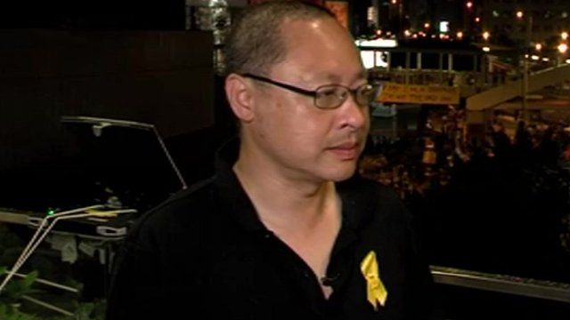 Occupy Central leader, Benny Tai