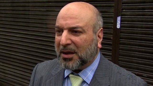 alan henning muslim leader devastated at murder bbc news