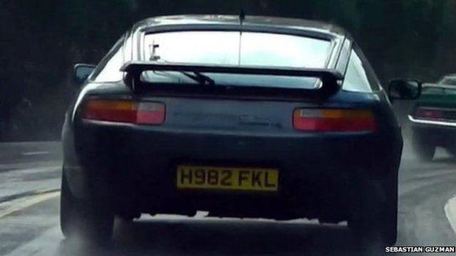 Offending Porsche