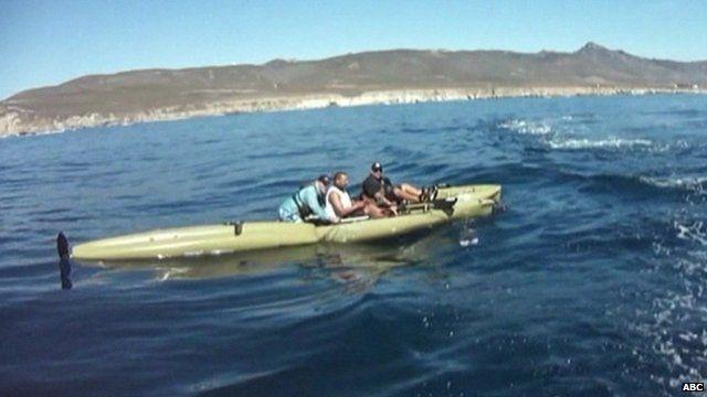 Kayaks Gouged In California Shark Attack