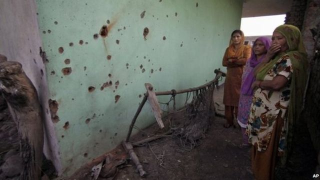 Kashmir: Nine civilians killed in India-Pakistan border firing