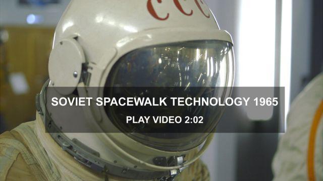 Alexei Leonov's 1965 spacesuit
