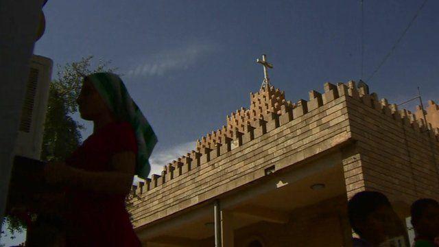 A Christian church in Iraq