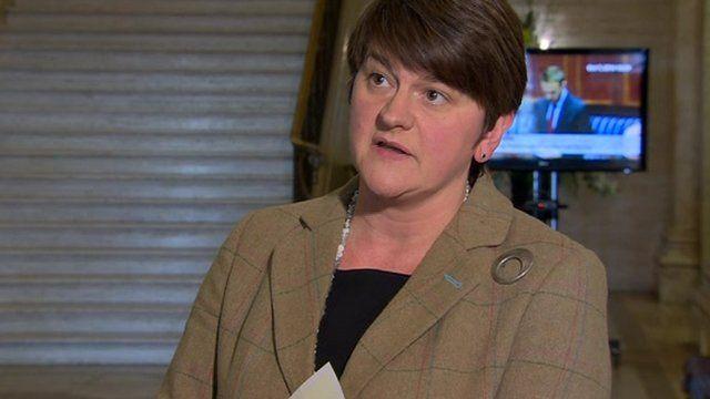 """Enterprise Minister Arlene Foster has called the decision """"devastating"""""""