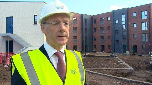 John Swinney said the budget would help create a 'fairer' Scotland.