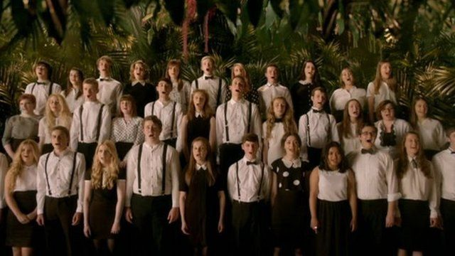 Tees Valley Youth Choir in the video for God Only Knows