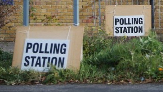 Homelands Free Church polling station