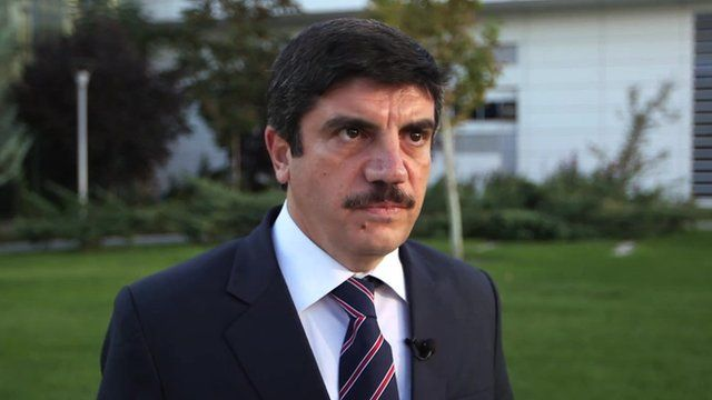 Yasin Aktay, the vice chairman of the governing AKP party
