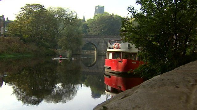 The River Wear in Durham City