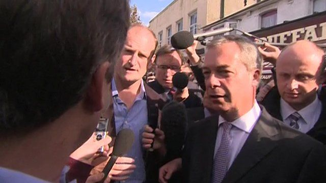 Douglas Carswell and Nigel Farage