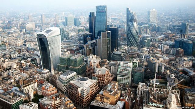 London from the sky: Flying high with the air ambulance