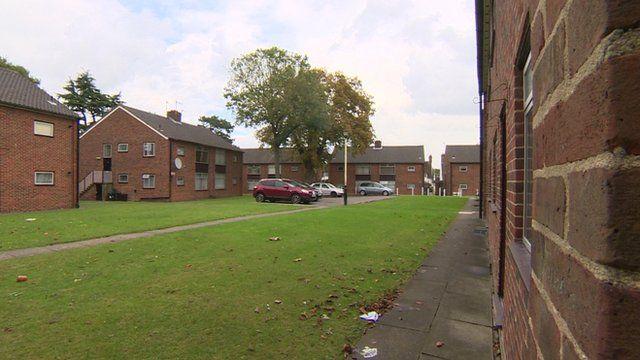 Raynesfield flats in Merton