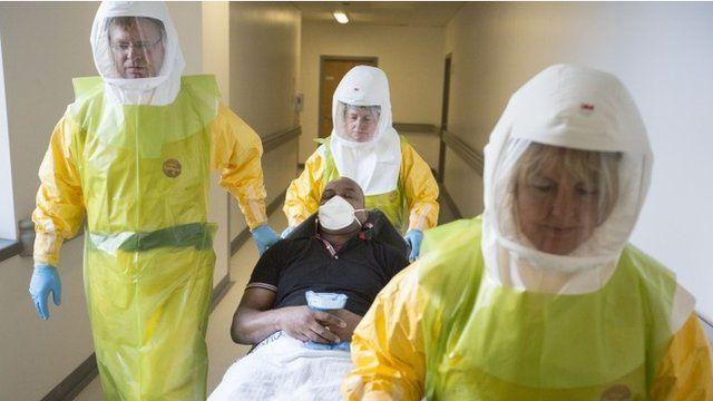 Ebola exercise