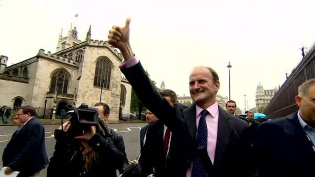 Douglas Carswell arrives at House of Commons