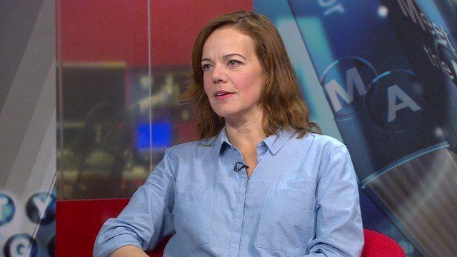 Historian and writer Helen Castor