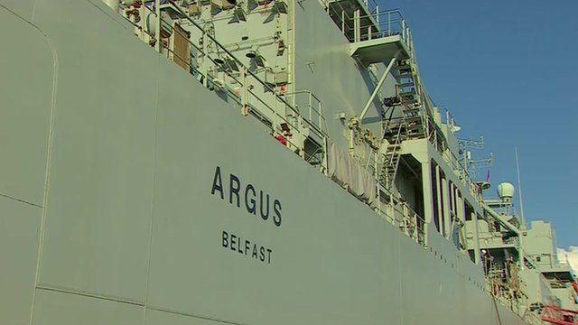The Royal Fleet Auxiliary Argus