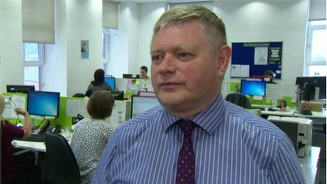 David Burns said the NSPCC was still not getting the level of response it would like