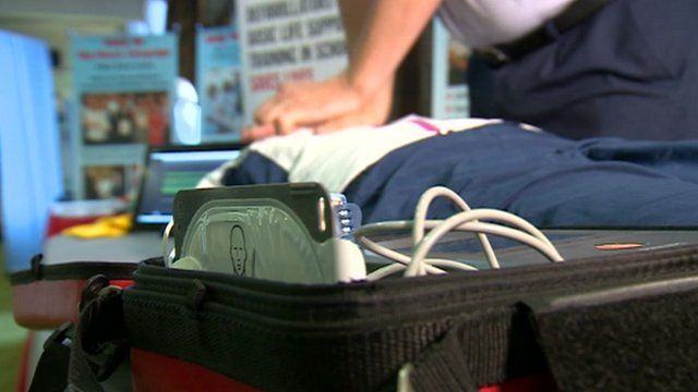 A campaign starts to encourage more schools to teach CPR to pupils.