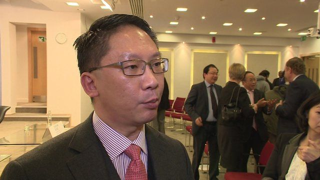 Hong Kong's Secretary for Justice, Rimsky Yuen