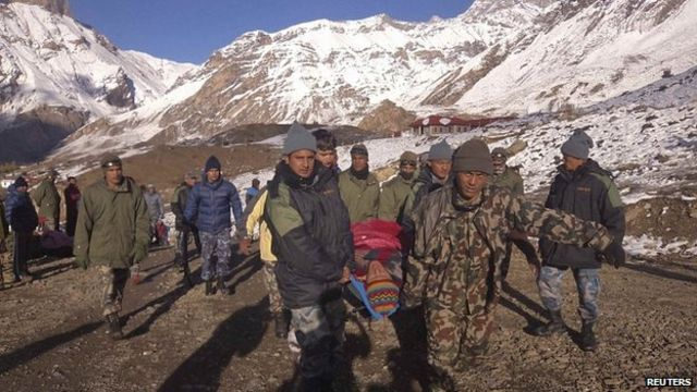 Nepal blizzards and avalanches claim many lives