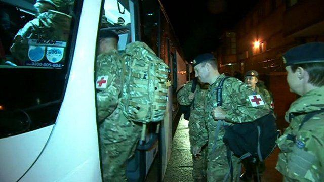 Army medics board coach
