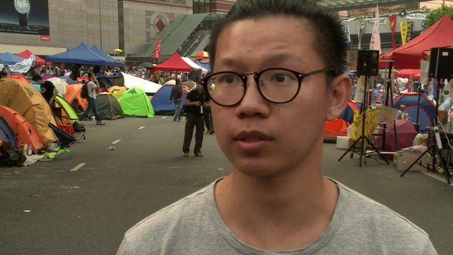 Protester Pen Ng