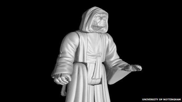 3D image of Emperor Palpatine figure