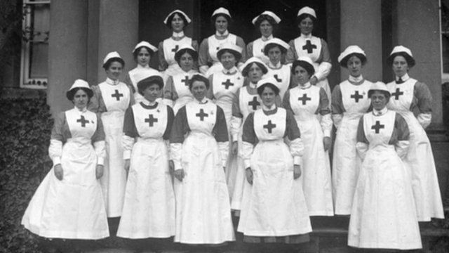 Red Cross hospital nurses