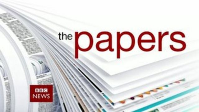 Opening credit, the papers