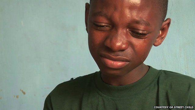Sierra Leone boy whose relatives died of Ebola