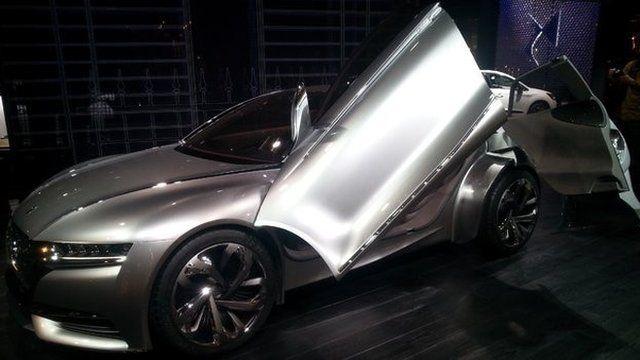 Citroen revealed its latest concept car, the DS Divine, in Paris