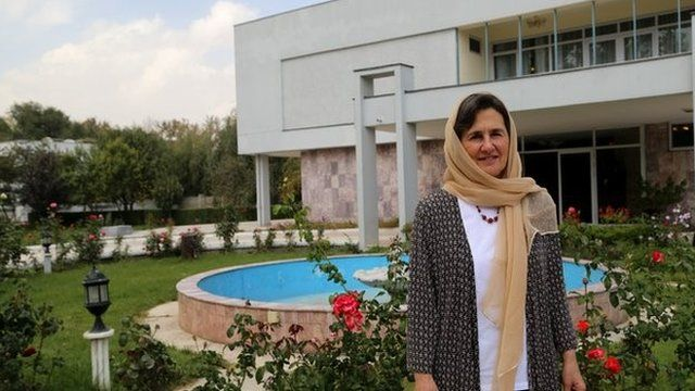 Mrs Ghani will run her office from the presidential palace in Kabul