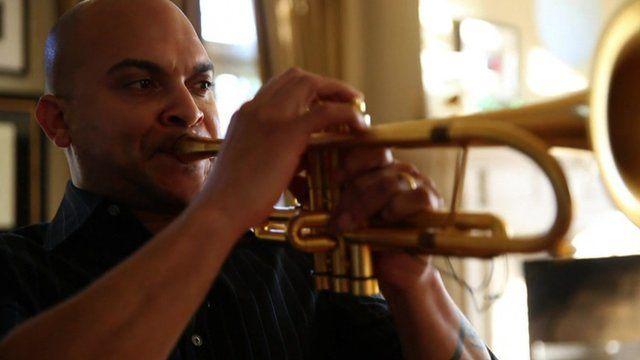 Jazz trumpeter Irvin Mayfield