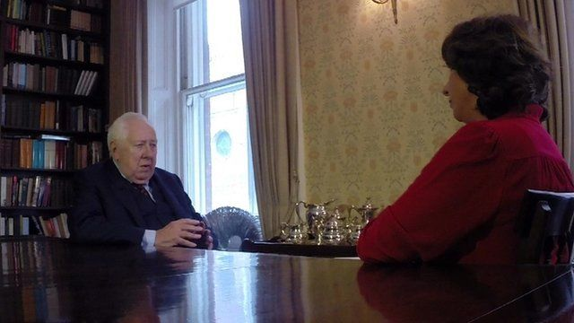 Roy Hattersley with Jo Coburn