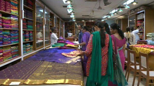 The luxury sari firm dressing women for generations