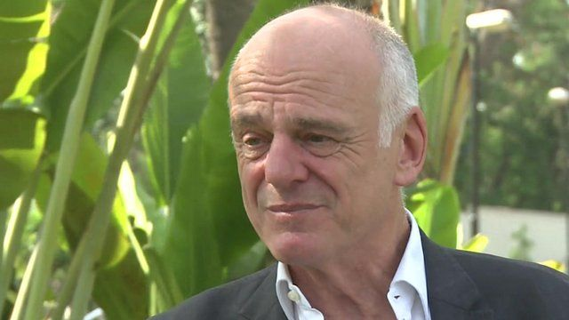 UN system co-ordinator for Ebola David Nabarro