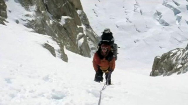 Mountaineer Nigel Vardy