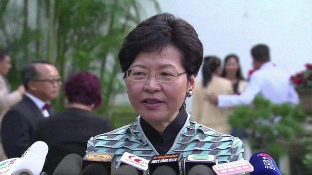 Carrie Lam, Chief Secretary of Hong Kong
