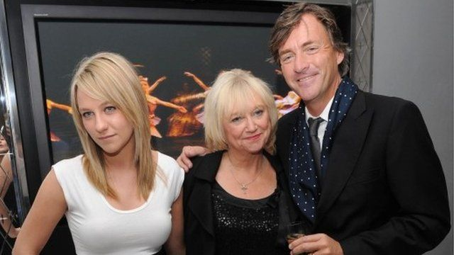 File photograph of Chloe Madeley, Judy Finnegan and Richard Madeley