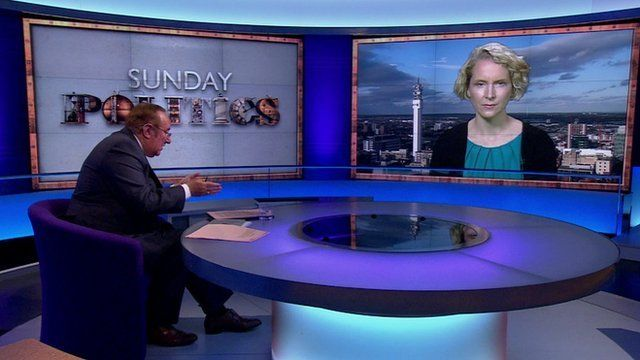 Andrew Neil and Emma Reynolds