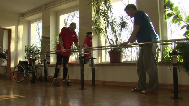 Paralysed man walks again after cell transplant